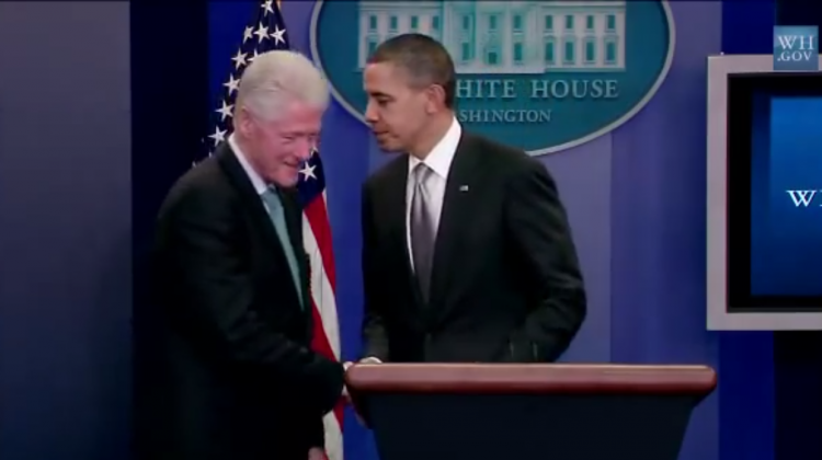 Clinton Helping Obama