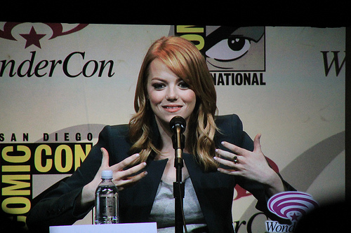 "Emma Stone, ""MJ"" in newest Spiderman movie"