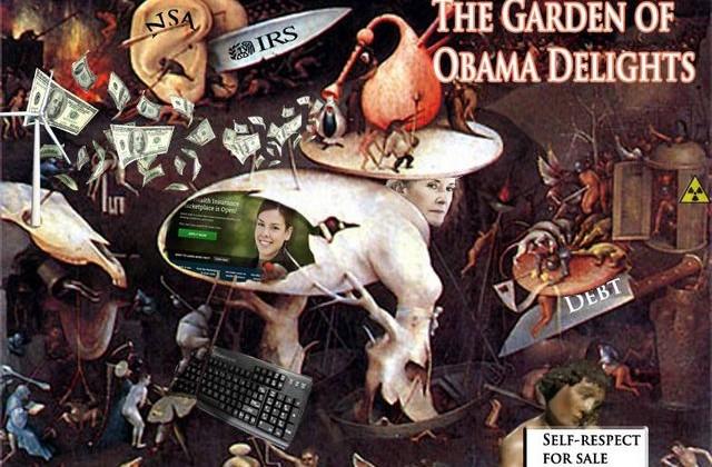 Obama Garden Delights Scandals