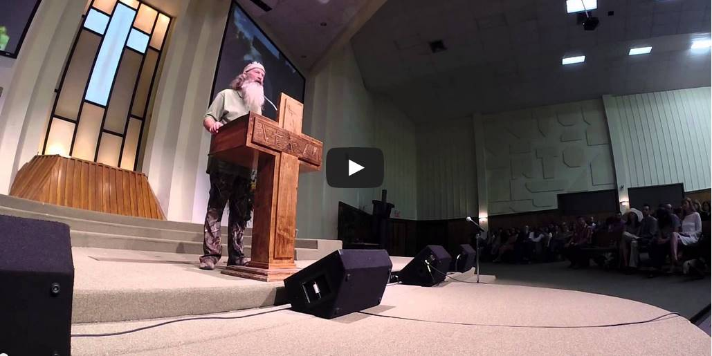 Brilliant: Phil Robertson Finally Addresses Controversial Comments