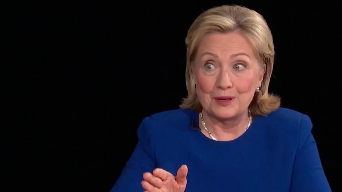 Hillary Admits She's Crazy