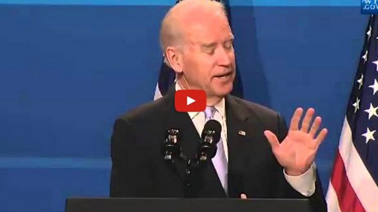 Joe Biden takes shot at Hillary
