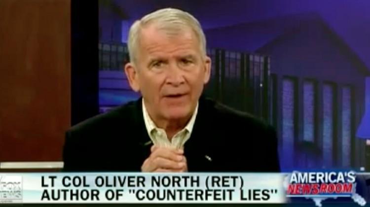Colonel Oliver North