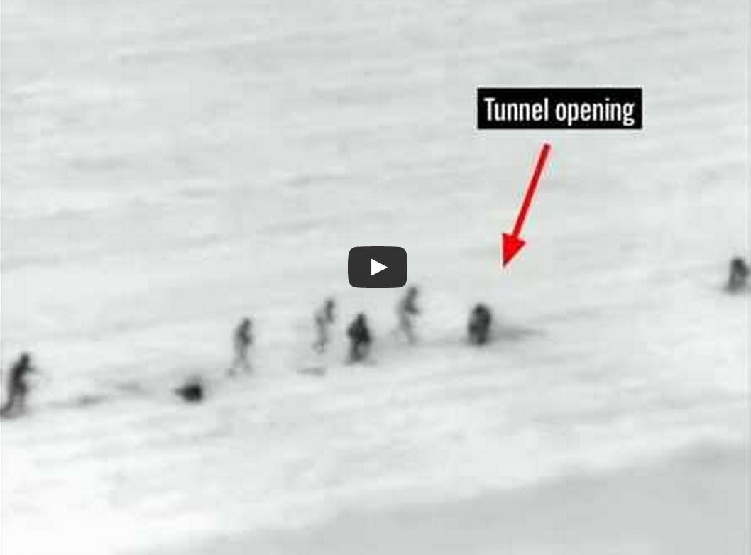 Hamas tunnel video