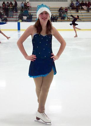 Justina Pelletier Skating