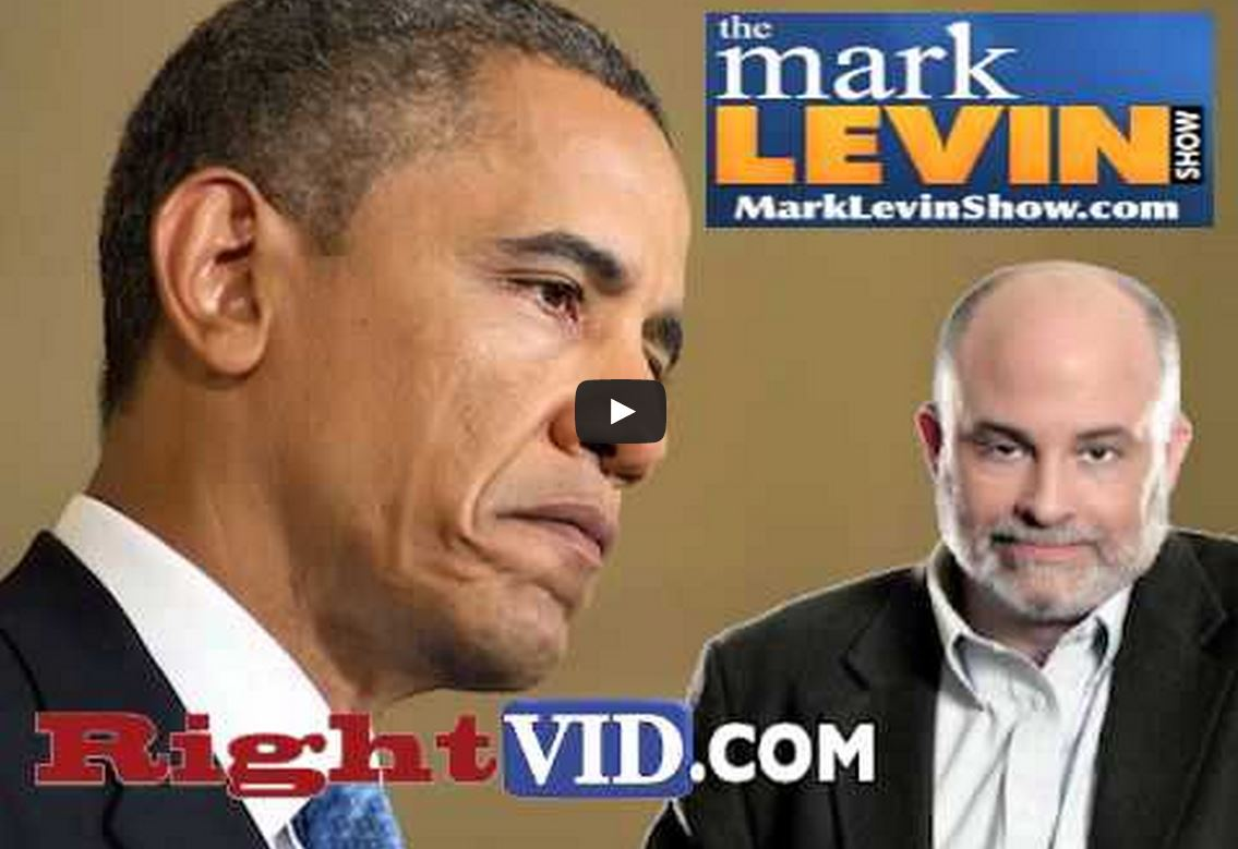 Levin furious at Obama