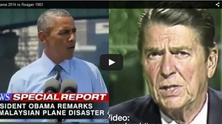 Reagon Verse Obama
