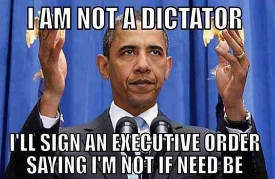 Obama not a dictator