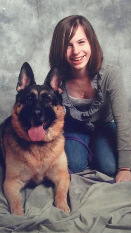 justina pelletier with dog