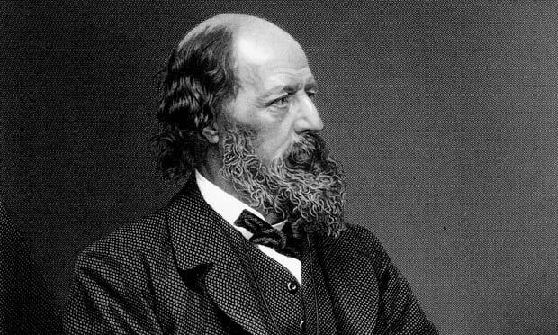 Alfred, Lord Tennyson (1809-1892).