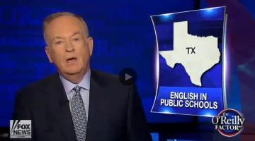 Bill'O English In Public Schools