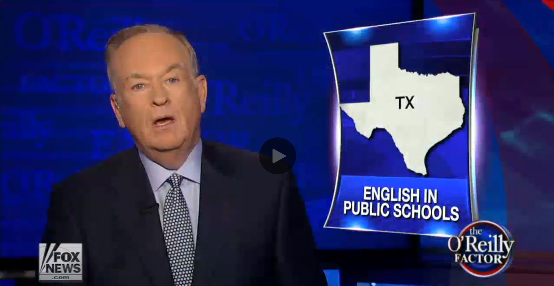 Bill'O English In Public Schools