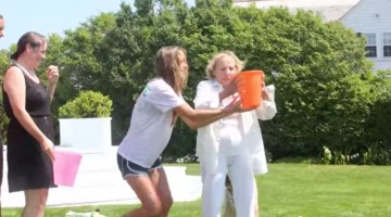 Ethel Kennedy Ice Bucket Challenge