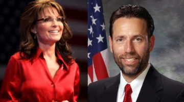 Joe Miller and Sarah Palin