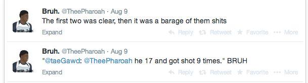 Michael Brown Eyewitness Twitter 4