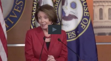 Nancy Pelosi Play Button