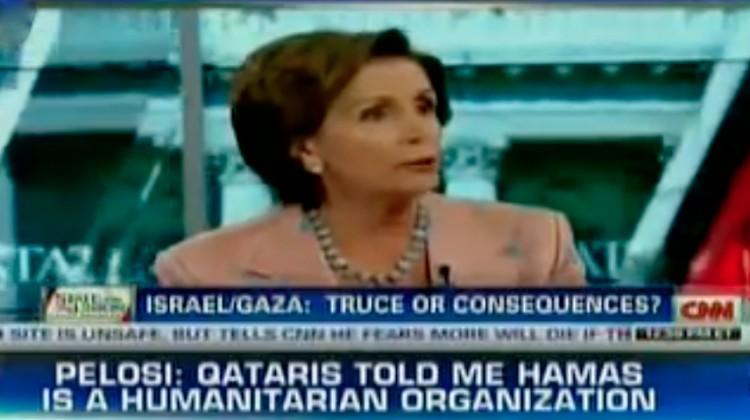 Pelosi on Hamas