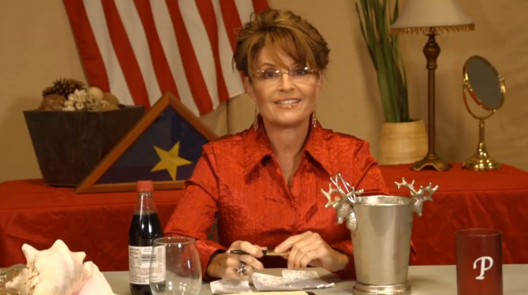 Sarah Palin Ice Bucket Challenge