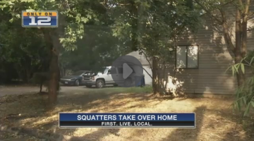 Man's Home Is Invaded By Squatters