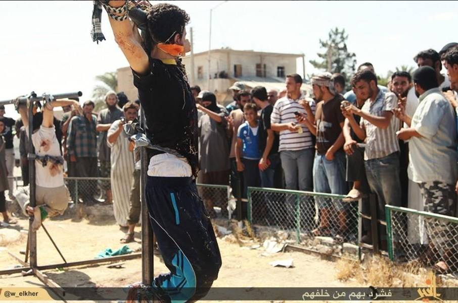 ISIS Crucifies Youth
