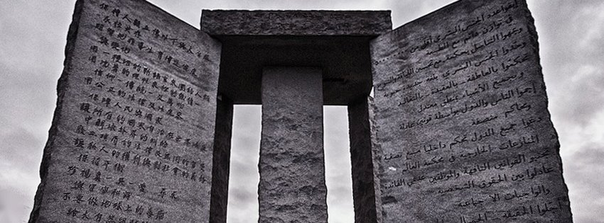 Cryptic '2014' Stone Added To Monument Calling For Population Control And World Government
