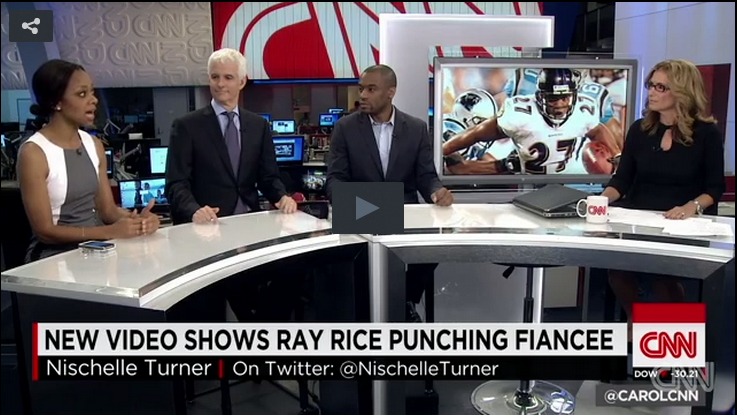 Ray Rice Punches Fiancé