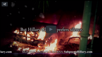 Hillary Clinton Stop the Silence