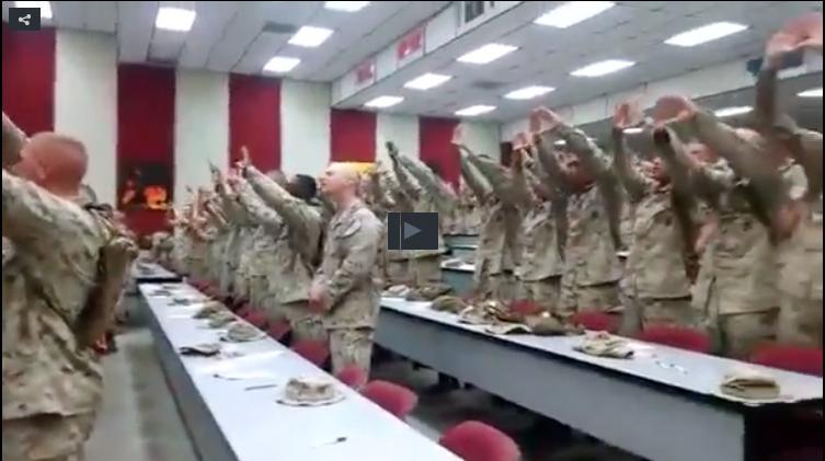 "U.S. Marines Singing ""Days Of Elijah"" Will Warm Your Heart"