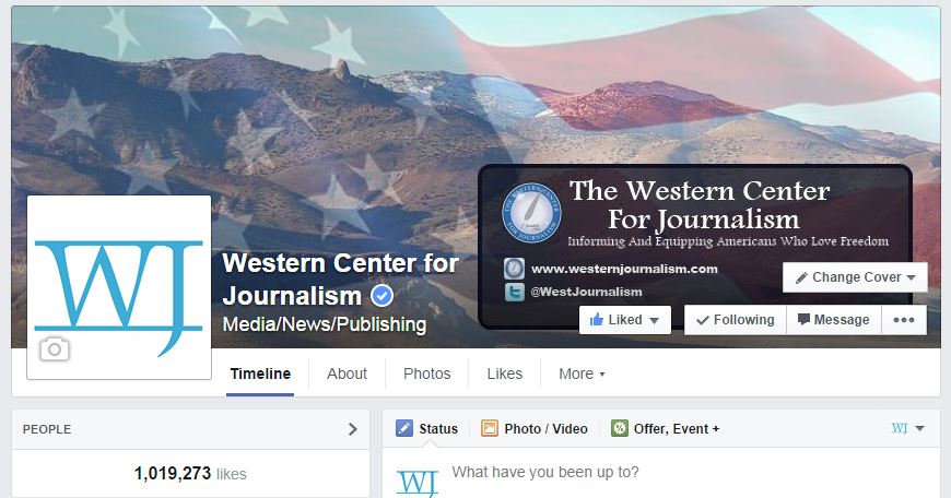 Western Facebook