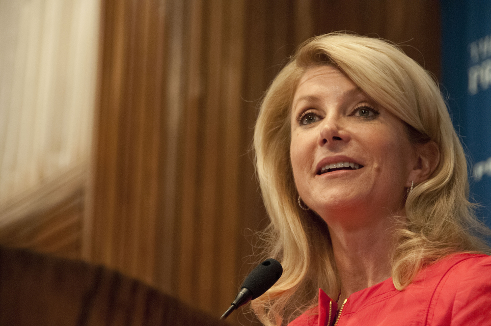 Desperate Wendy Davis Suggests Her Opponent Would Vote To Outlaw His Own Marriage