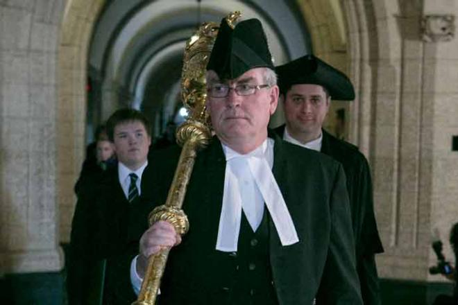 House of Commons Sergeant-at-Arms Kevin Vickers Photo: Hill Times