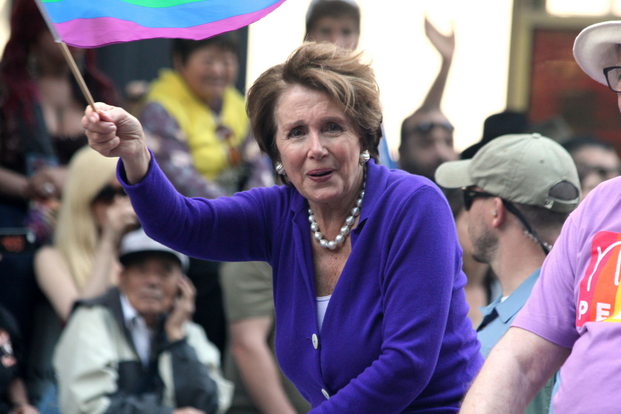 Pelosi Supports Transgender Military Service