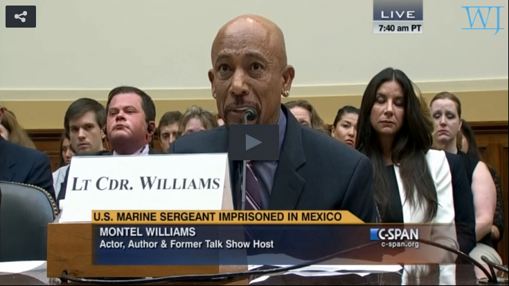 Watch: Montel Williams' Heartfelt Testimony For The Rescue Of Andrew Tahmooressi From Mexico