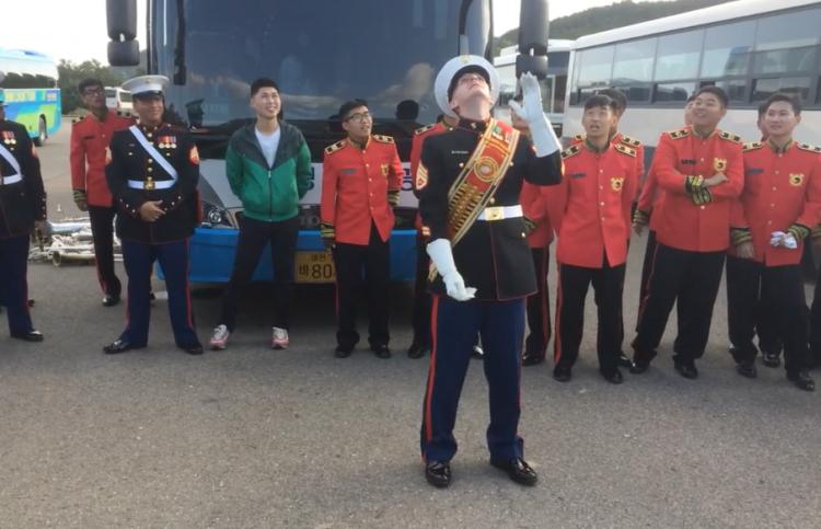 Marine vs. S. Korean Band
