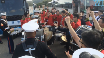 Marine vs. S. Korean Band