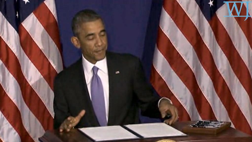Obama - Signing