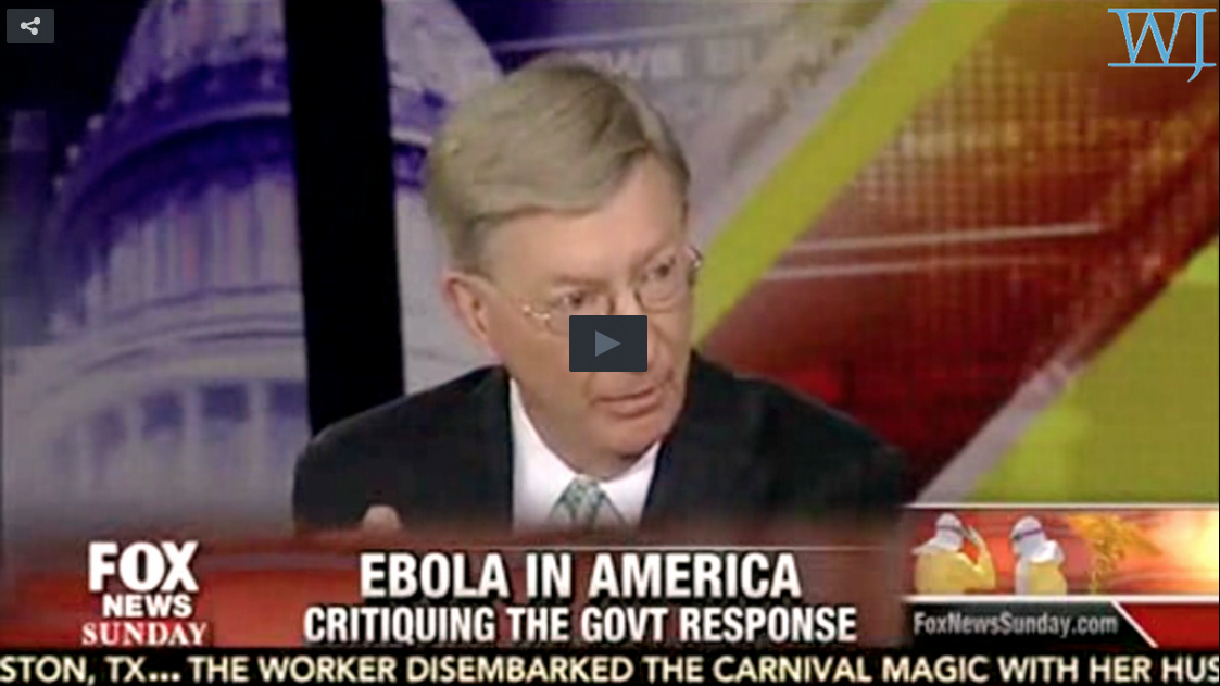 George Will Cites Report: Ebola Could Be Transmitted By Air