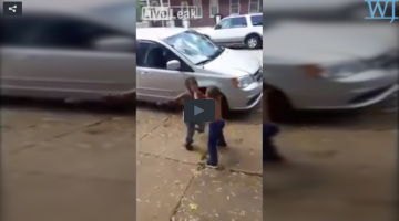 Young Black Youth Fighting