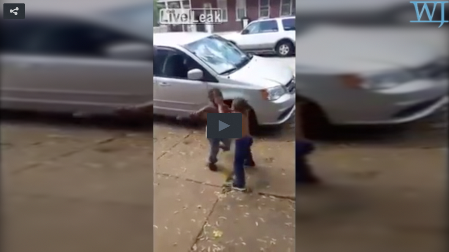 Despicable: Black Toddlers Fist Fight While Parents Cheer Them On