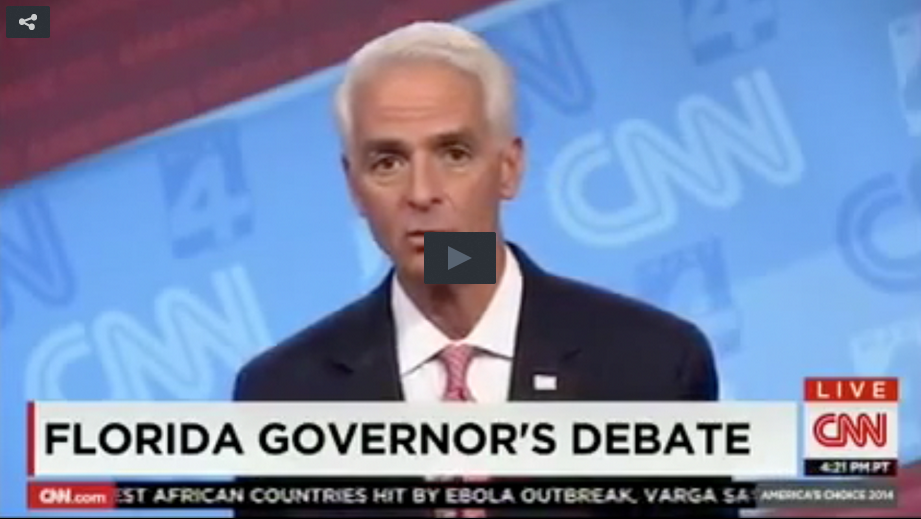 "Charlie Crist Doesn't Care If Thousands Of Floridians Lose Their Jobs, Says ""It's Worth It"""