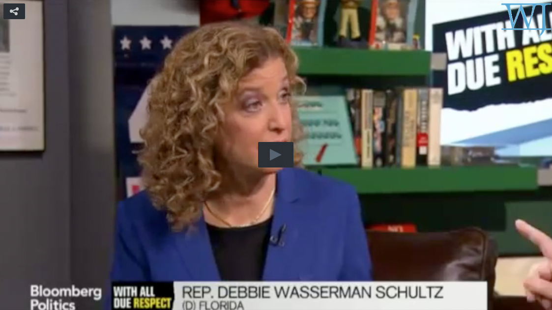 Debbie Wasserman Schultz Stuck In A Lie And She Doesn't Care