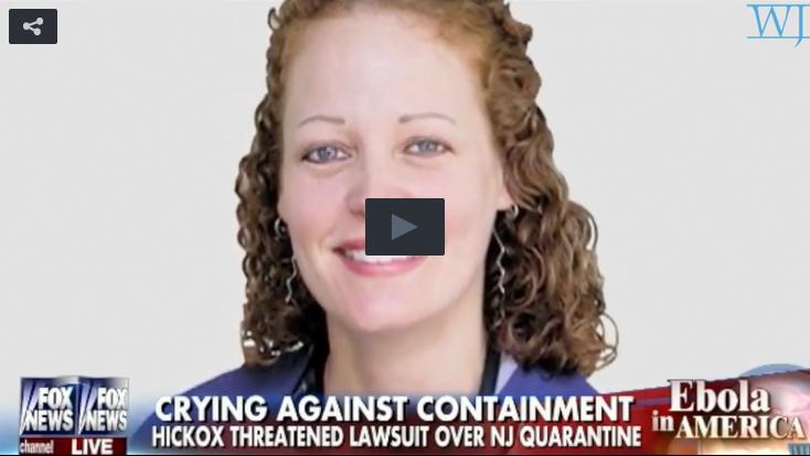Ebola Nurse Kaci Hickox Should Show Hometown Same Compassion She Showed African Patients
