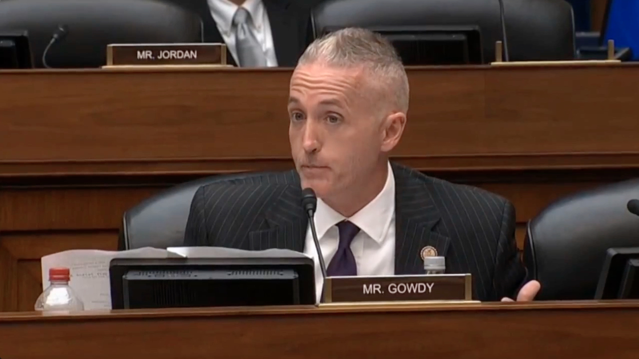 Trey Gowdy Shoots Down Dadgum Lawyer