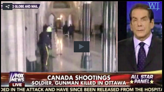 Krauthammer: Homegrown Threats Are New Face Of Terrorism