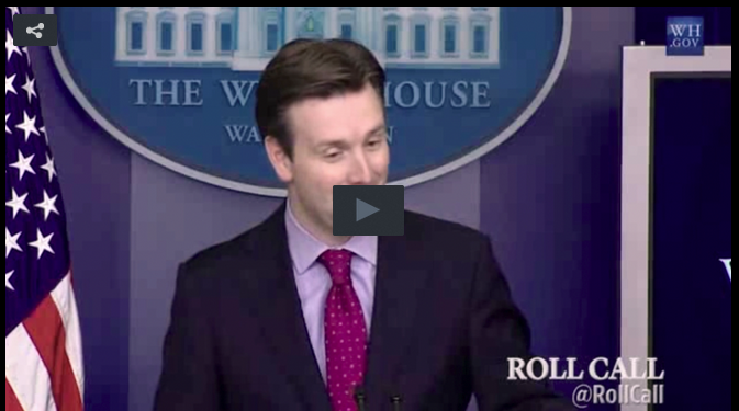 CBS' Major Garrett Grills WH Press Secretary About Probable Surge Of Green Cards