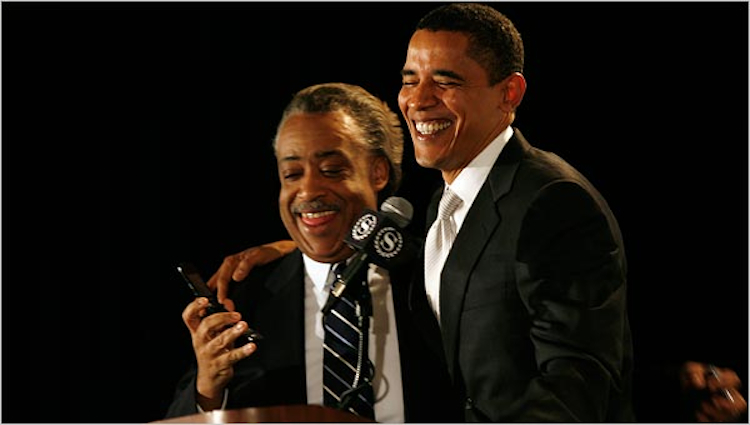 What Obama Just Said To Sharpton Makes You Wonder…Does He Secretly Want A GOP Senate?