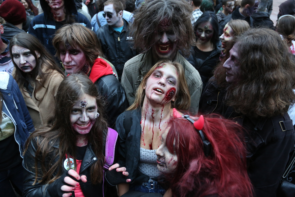 Zombies Are Us: The Walking Dead In The American Police State