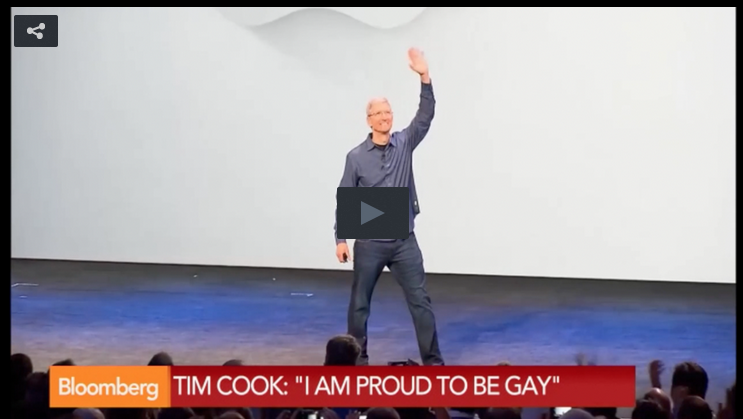 """Apple CEO Comes Out As Gay, Says It's """"Among The Greatest Gifts God Has Given"""" Him"""