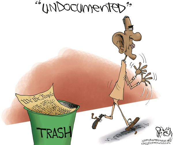 Obama Shows What He'd Like To Do With The Constitution