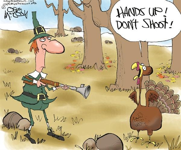 Hands Up Turkey